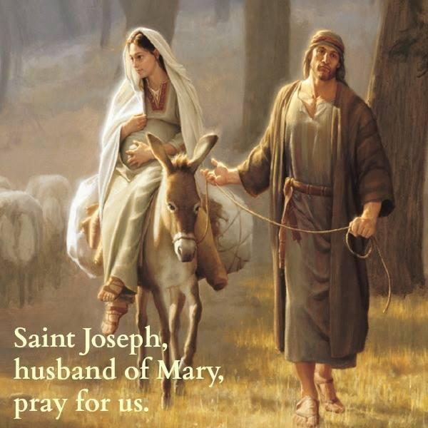 Was st joseph a widower